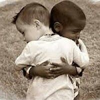 "Kinder ""THIS IS WHAT LOVE LOOKS LIKE....WE COULD ALL TAKE A LESSON FROM THESE TWO PRECIOUS CHILDREN!"