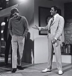 Blake Edwards and Peter sellers on the set I the party 68