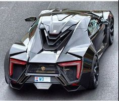 W Motors Lykan Hypersport. Limited to seven cars worldwide each priced at over 3 million dollars! this car is used in fast 7 goes threw 3 yes 3 buildings not two as you saw on the trailer, epic scenes :) Maserati, Bugatti, Lamborghini, Ferrari, Rolls Royce, Supercars, Porsche 918 Spyder, Automobile, Fancy Cars