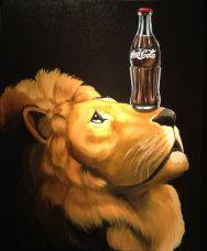 Lion of Coke | Robert Deyber