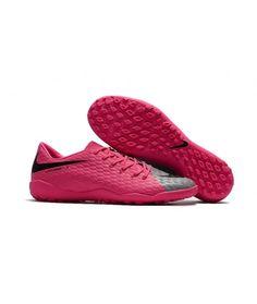 size 40 39280 d4e94 Nike Hypervenom Phelon III TF NA UMĚLÝ POVRCH růžový šedá černá muži  Leather kopačky