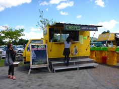 Rotorua Saturday morning Flea Market, cheap and amazing food. Crepes. Viatori #travel #newzealand #market #crepes