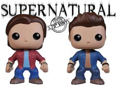 Bonecos Funko Pop Supernatural