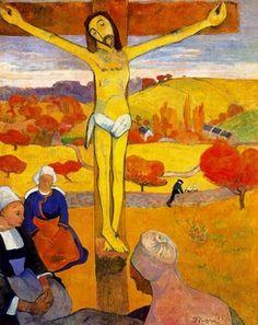Paul Gauguin; Il Cristo giallo; 1889; olio su tela; Albright-Knox Art Gallery, Buffalo.