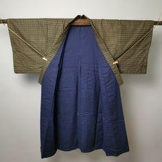 41 Japanese Kimono Vintage Mens Samurai / Modern Retro / Cotton / Haori Robe | eBay Visual Display, Modern Retro, Japanese Kimono, Samurai, Cotton, Men, Ebay, Vintage, Dress
