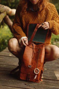 """Echtleder Gusti Leder Handtasche """"Archibald"""" Vintage-Style M60b IMG_0537"""
