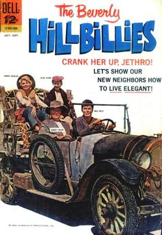 The Beverly Hillbillies ( July 1963 ) Dell Comic Book Vintage Comic Books, Vintage Tv, Vintage Comics, Vintage Stuff, Classic Books, Classic Tv, Classic Movies, Max Baer, Donna Douglas