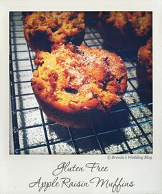 Gluten Free Apple Raisin MuffinsRecipe