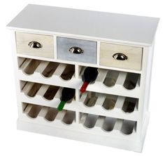 White-and-Blue-Wine-Rack-Cabinet-with-Drawers