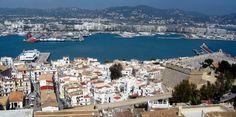 Vista de Ibiza.