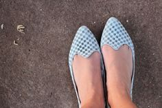 Flats Quadriculada | Querido Cabide