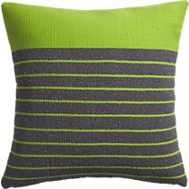 """division green 20"""" pillow: we can only use this one if we go with the gray and white sheets...not the green from C&B"""
