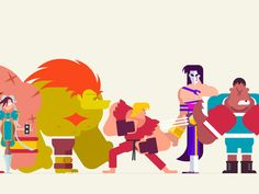 Street Fighter Lineup 2 of 3