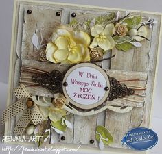 Peninia Art... Card with lowers
