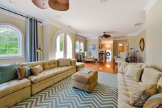 Bluewater Court: Upstairs in this Ocean Pines, Maryland, home, you'll find a great room that's perfect for quieter entertaining and gatherings with friends and family.