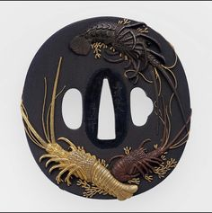 Tsuba with design of crayfish | Museum of Fine Arts, Boston