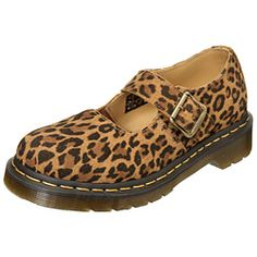 Dr. Martens Women's Mary Jane Leather Shoes