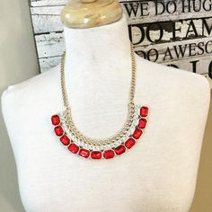 Necklace {Ruby slipper}