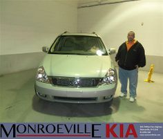 Happy Anniversary to Timothy Scott Oneill on your 2012 #Kia #Sedona from Andrew Molnar  and everyone at Monroeville Kia! #Anniversary