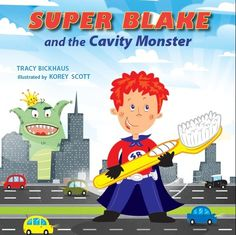 When my son shared how he is encouraged by Super Blake and the Cavity Monster to fight cavities, build up practices to fight cavities including brushing his teeth twice a day.