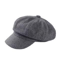 4074cc5f7bf0 Men Women Newsboy Driving Flat Tweed Sun Hat Country Beret Baker Cap  painter caps octagonal 1PC