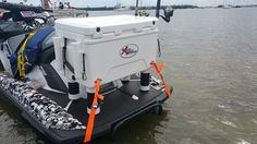 Fishing Box With Rod Holders