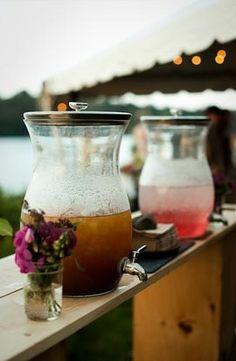 Pour vos coins boissons, utilisez des fontaines décoratives  www.lesbricolesdenolou.com