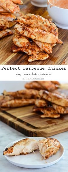Perfect Barbecue Chicken is so easy and guarantees moist, delicious perfectly grilled chicken everytime.- A Healthy Life For Me