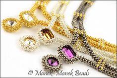 The Tatiana Necklace :  Manek-Manek Beads - Jewelry | Kits | Beads | Patterns