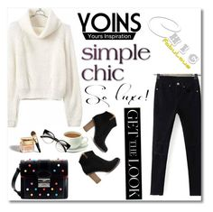 """www.yoins.com"" by mery1991 ❤ liked on Polyvore featuring Michael Kors, RED Valentino, Christian Dior and yoins"