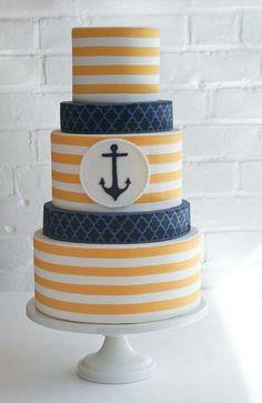 Erica OBrien Cake Design   nautical cake