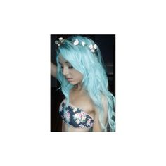 hairstyles, fashion, cute emo, girls, pretty ❤ liked on Polyvore featuring hair, girls, anons, colored hair and people