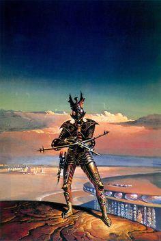 BRUCE PENNINGTON - art for Beyond this Horizon by Robert A. Heinlein - 1974 Panther paperback