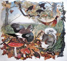 Illustration Art, Book Illustrations, Landscape, Artist, Animals, Paintings, Scenery, Animales, Animaux