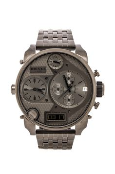 Diesel Mr. Daddy DZ7247 Watch in Grey from REVOLVEclothing