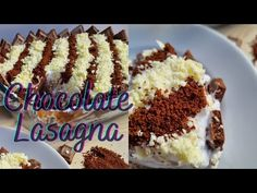 Chocolate Lasagna/Eid Ideas - YouTube