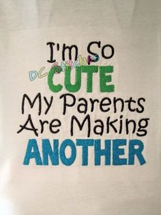 One Sibling shirt for the soon to be Big Brother or by dcstitches, $20.00 if we ever get to announce we are having another baby, this would be cute and different for the boys to | http://carsandsuchcollections.blogspot.com