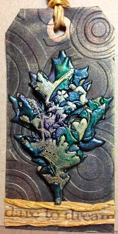 Scrapping On The Edge: Flying Unicorn WCYDW - Perfect Pearls Emboss Technique