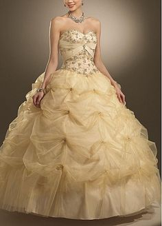 Stunning Satin Sweetheart Pick-up Skirt Ball Gown