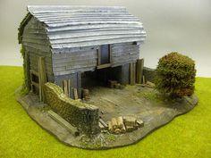 Tiled Farm Building / Boarder House 1 by eris_artwork, via Flickr