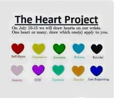 tattoo heart semicolon meaning - Bing images Gesundheits Tattoo, Tatoo Art, Body Art Tattoos, Tatoos, Tiny Tattoo, Wrist Tattoos, Tattoo Drawings, Bipolar Tattoo, Anxiety Tattoo