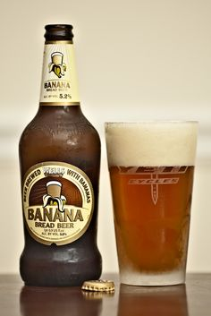 Well's Banana Bread Beer - More banana than Yazoo's Hefeweizen, but not too banana and not too sweet. Yum!