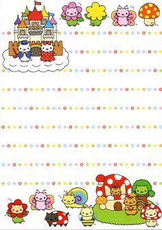 Nyan Nyan Nyanko stationary - Kawaii memo paper