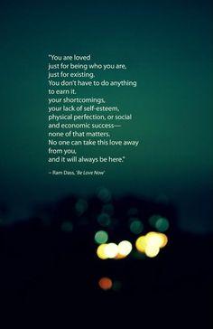 Ram Dass quote - Love
