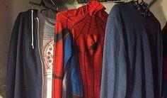 ★彡 peter parker / spider-man Stucky, Oc Fanfiction, Parker Spiderman, Wade Wilson, Into The Fire, Spideypool, After Life, Clint Barton, Character Aesthetic