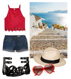 """summer"" by gecegoker on Polyvore featuring moda, Aéropostale, Roxy ve MICHAEL Michael Kors"