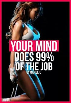 Mind over matter * motivstion fitspo