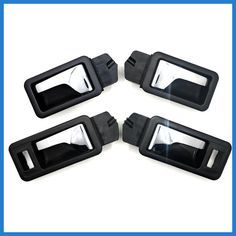 4Pcs Manecilla Interior Puerta HR Fornt Hinten Left Door Handle for Audi 80 89 B4 200 90 100 CABRIOLET B4 893837020 893 837 019