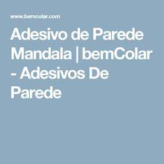 Adesivo de Parede Mandala  | bemColar - Adesivos De Parede