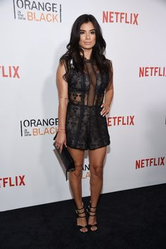 Pin for Later: Did We Just Get a Harsh Prison Sentence? Because the OITNB Stars Are Giving Us Life  Pictured: Diane Guerrero